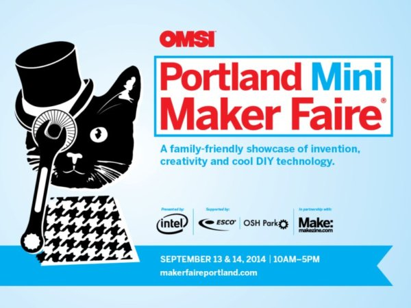 Portland Mini Maker Faire 2014